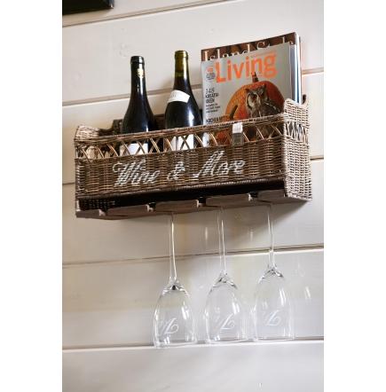 Riviera Maison Houder.Rm Rustic Rattan Wine More Holder Lykkemagasin